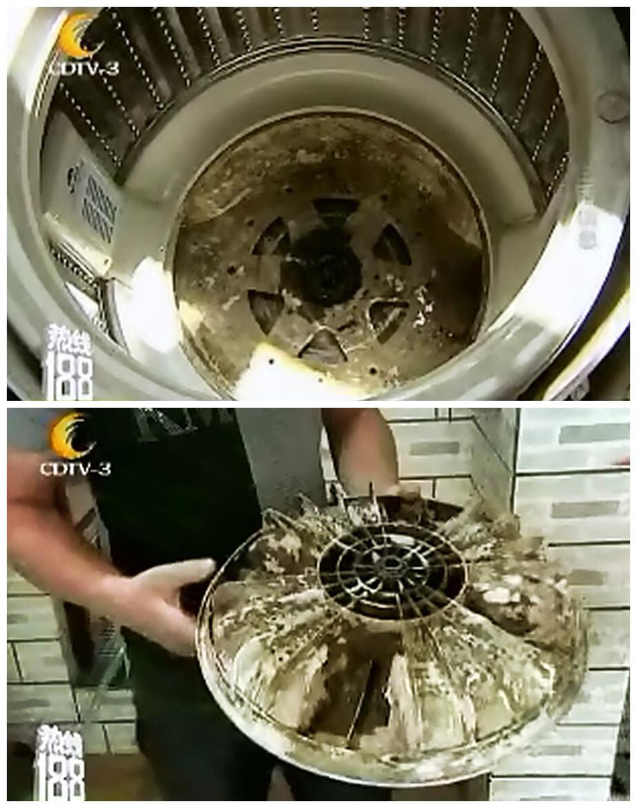 成都电视台曝洗衣机内幕:清洗内桶比洗衣服更重要