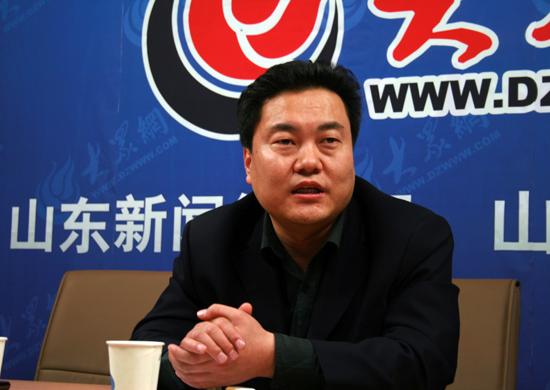 青岛海信电器股份有限公司济南经营分公司总经理李学钊做客大众网