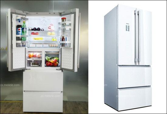 西门子零度多门冰箱km40fs20ti